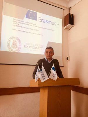 The participants of the training in Lithuania told about participation in the project Erasmus+