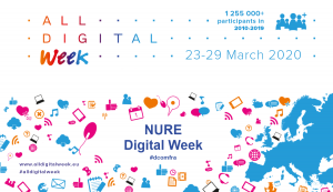 The Department of Systems Engineering has joined the European initiative All Digital Week